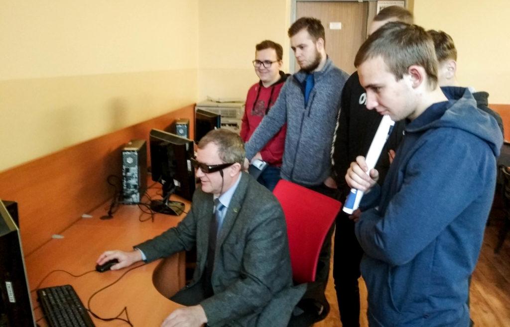 Студенты из филиала БГТУ «Витебский государственный технологический колледж»  ознакомились с особенностями обучения на лесохозяйственном факультете